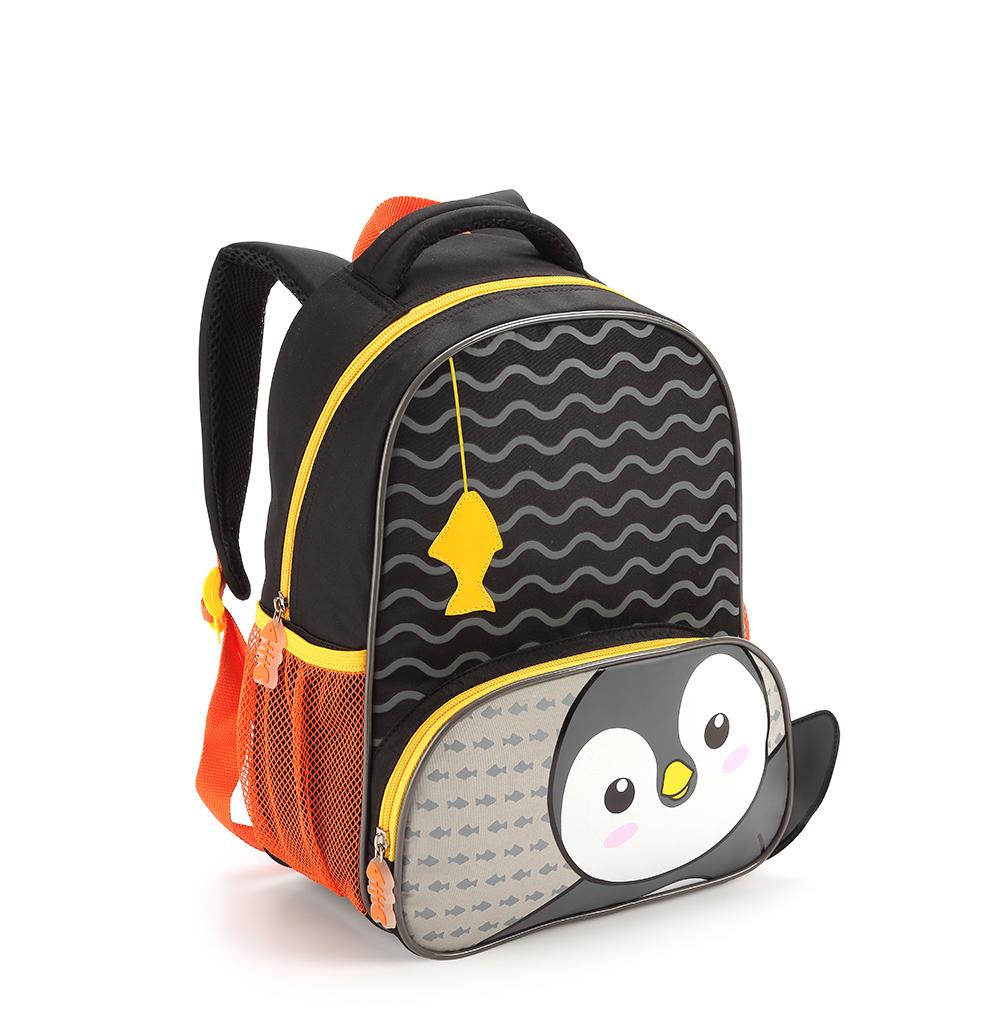 Mochilinha Infantil Zoop Kid Tamanho Pequena Pinguim Fofa