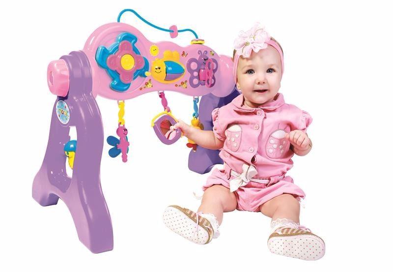 Play Gym Com Som Brinquedo Para Bebe Atividades Maral 3041