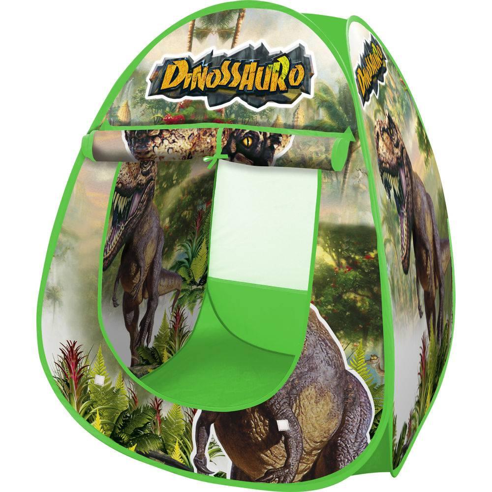 Toca Barraca Dinossauro Infantil DM Toys DMT5618 Dobrável