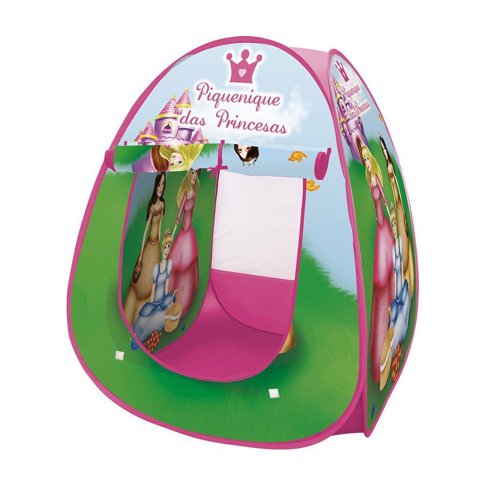 Toca Barraca Infantil Cabana Feminina Dobrável 4692 Princes
