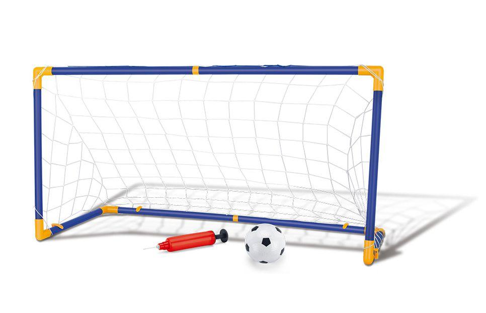 Trave Futebol Infantil Desmontável Com Mini Bola 118cmx62cm