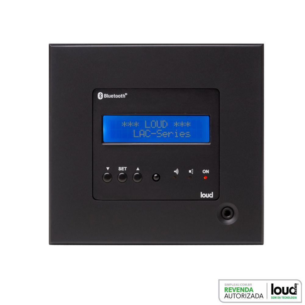 Amplificador de Parede Bluetooth C/ Controle LAC NG Loud