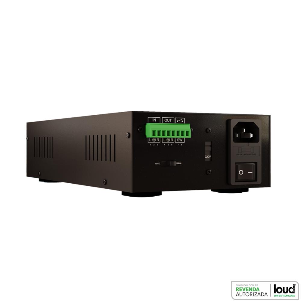 Amplificador de Potência Estéreo 240W RMS P/ Embutir APL-300 Loud