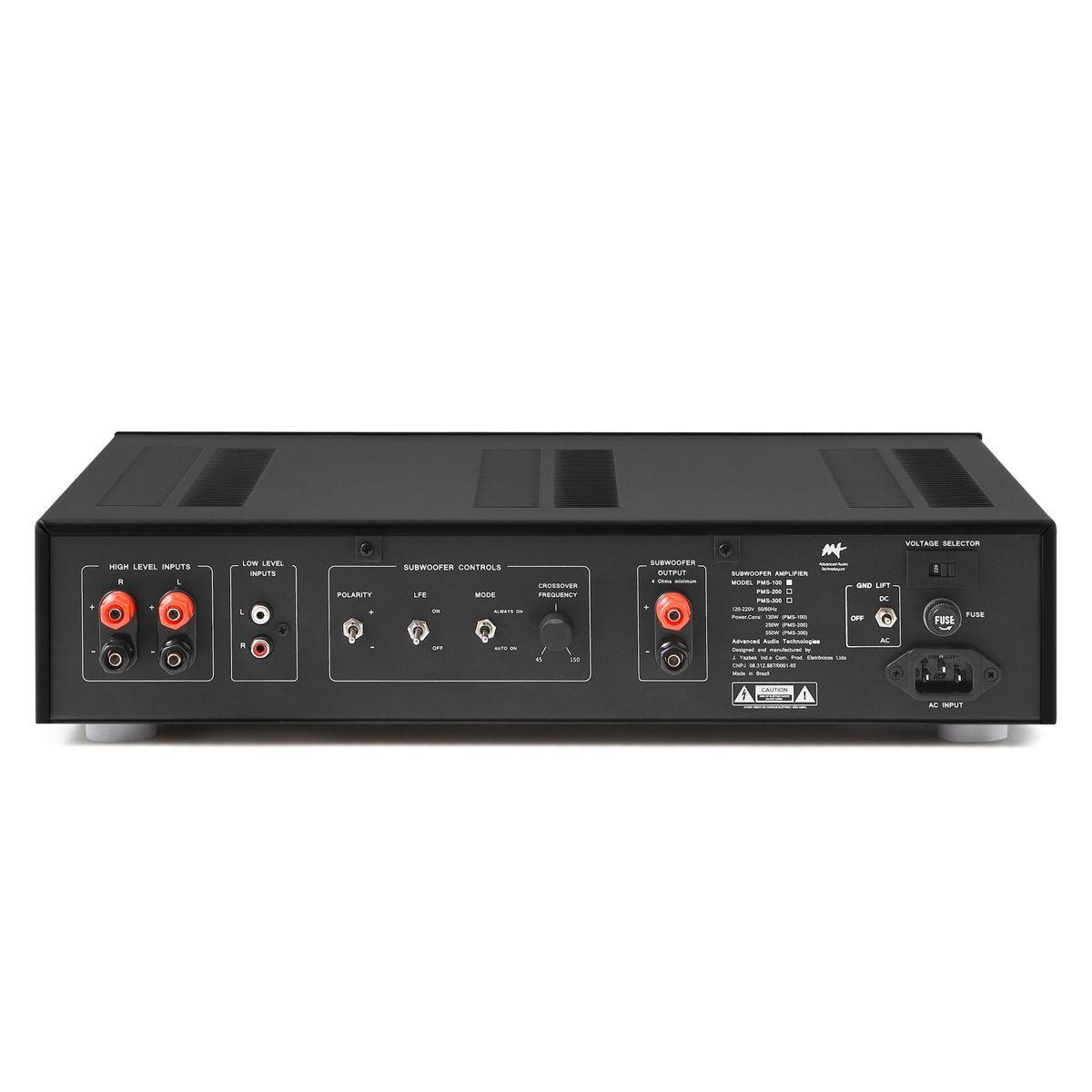 Amplificador Para Subwoofer Passivo 200W RMS / PMS-100 AAT