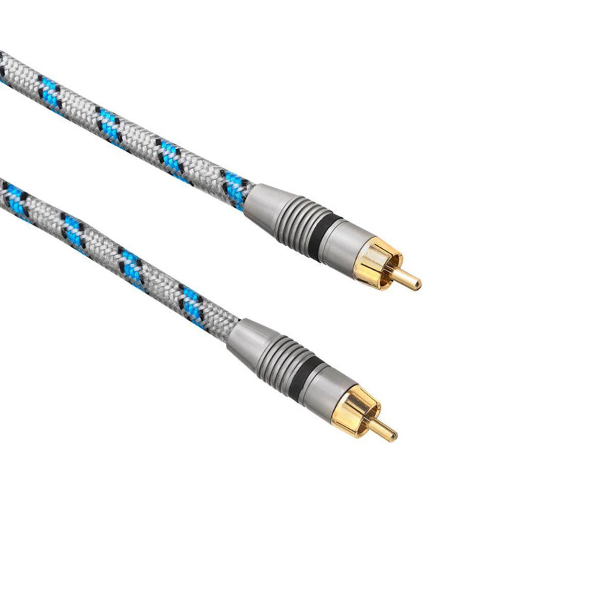 Cabo RCA Mono P/ Subwoofer Noise Free Dual Core AR-2 AAT (10M)
