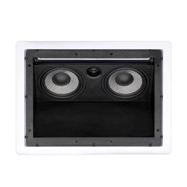 Caixa Acústica de Embutir no Gesso C/ Ajuste de Angulo LHT-100 LOUD