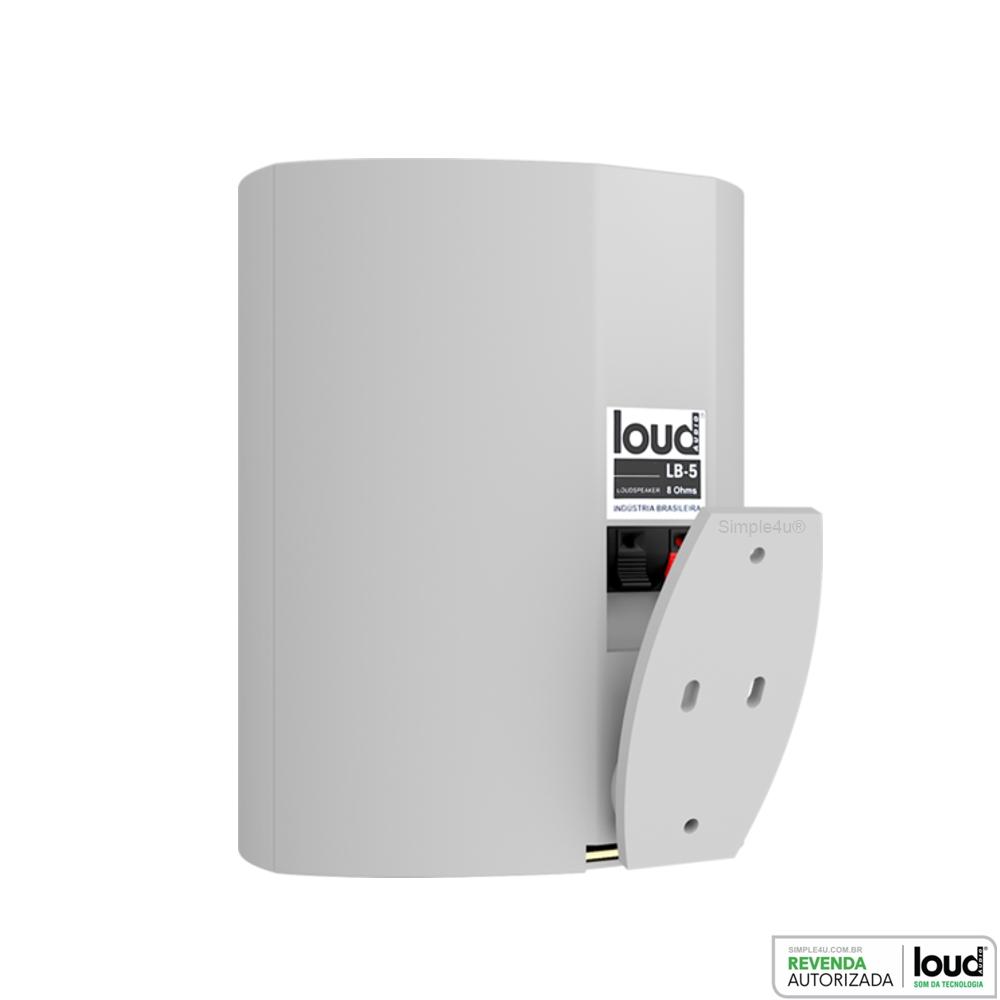 Caixa Acústica P/ Ambiente Externo e Interno 80W RMS LB5-80 Loud (PAR)