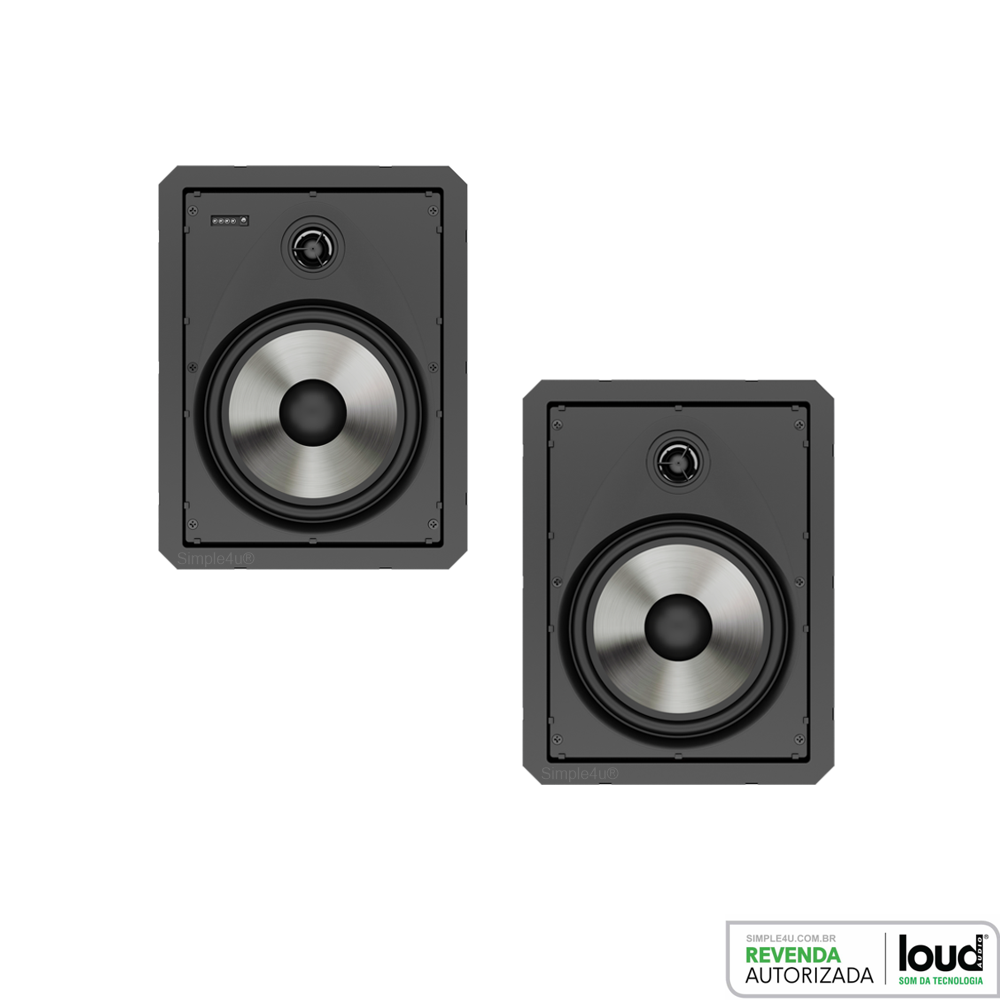 Caixa de Embutir no Gesso Ativa C/ Bluetooth LR6-BT-A KIT Loud