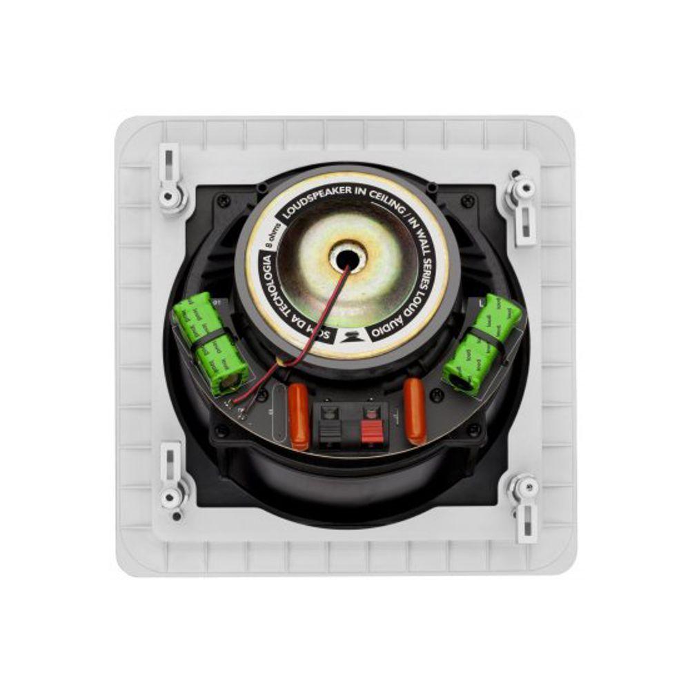 Caixa de Embutir no Gesso Quadrada Angulada 100W SL6-100 Loud