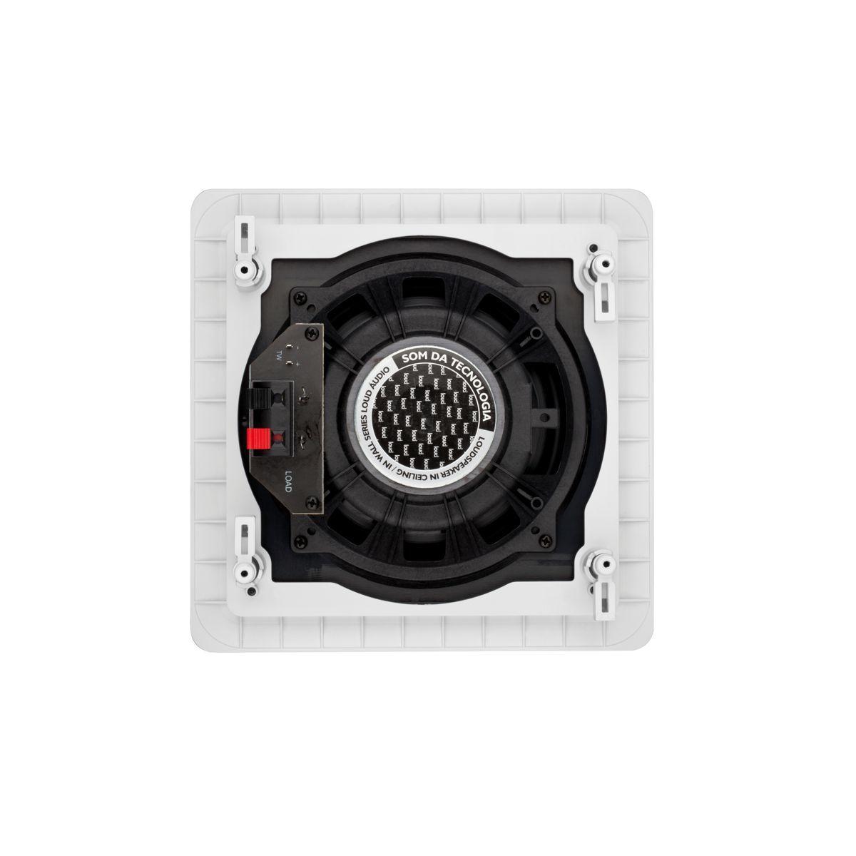 Caixa de Embutir no Gesso Quadrada Plana Full Range SQ6-PA Loud