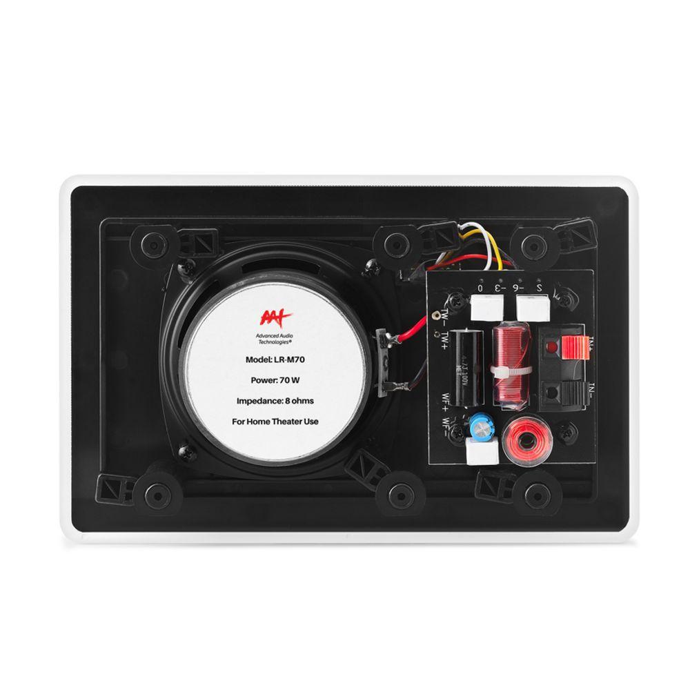 Caixa de Embutir no Gesso Retangular LR-M70 AAT (PAR)