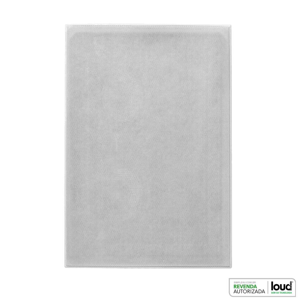 Caixa de Embutir no Gesso Retangular Plana Borderless 100W LHT TW-100 BL Loud