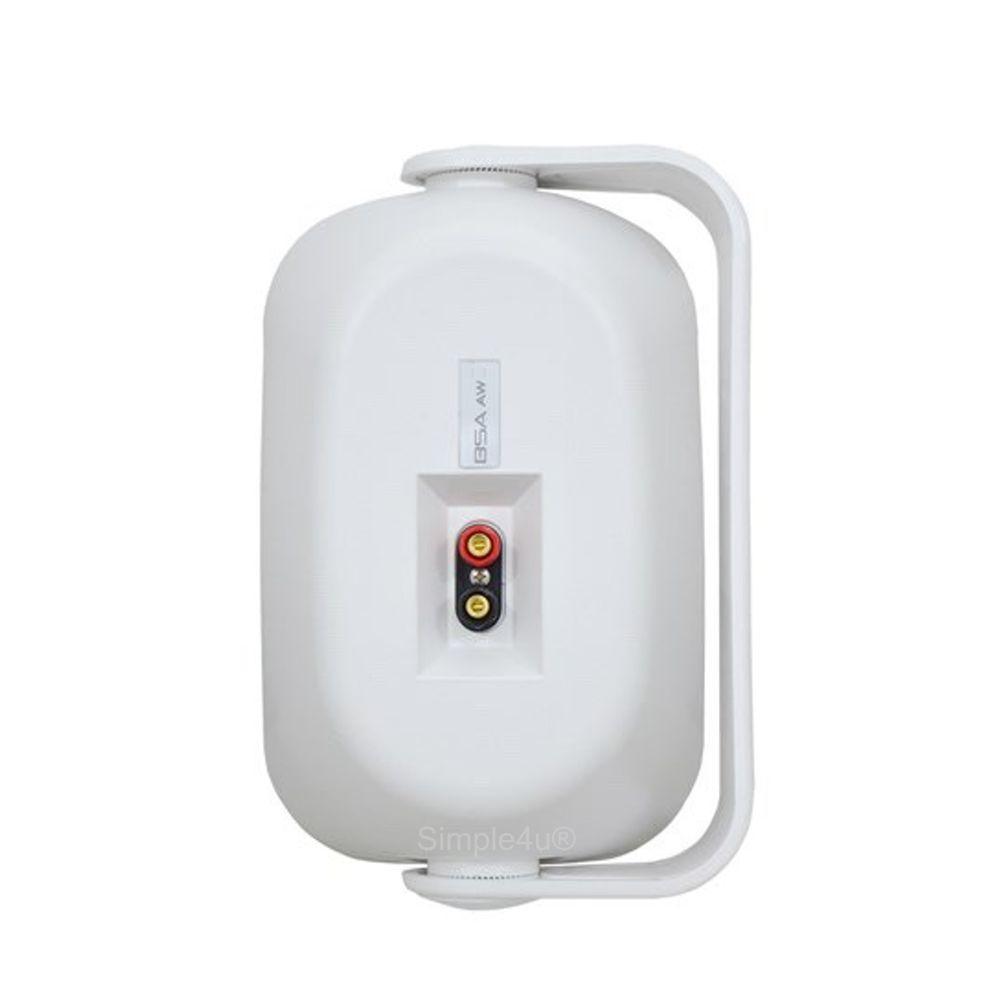 Caixa de Som Ambiente Externo / Interno Selada 80W - AW4 BSA (PAR)
