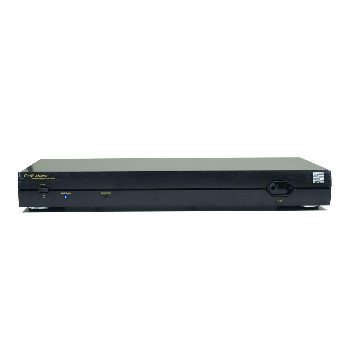 Condicionador de Energia 1500W CDR-1500ex SAVAGE (110v)