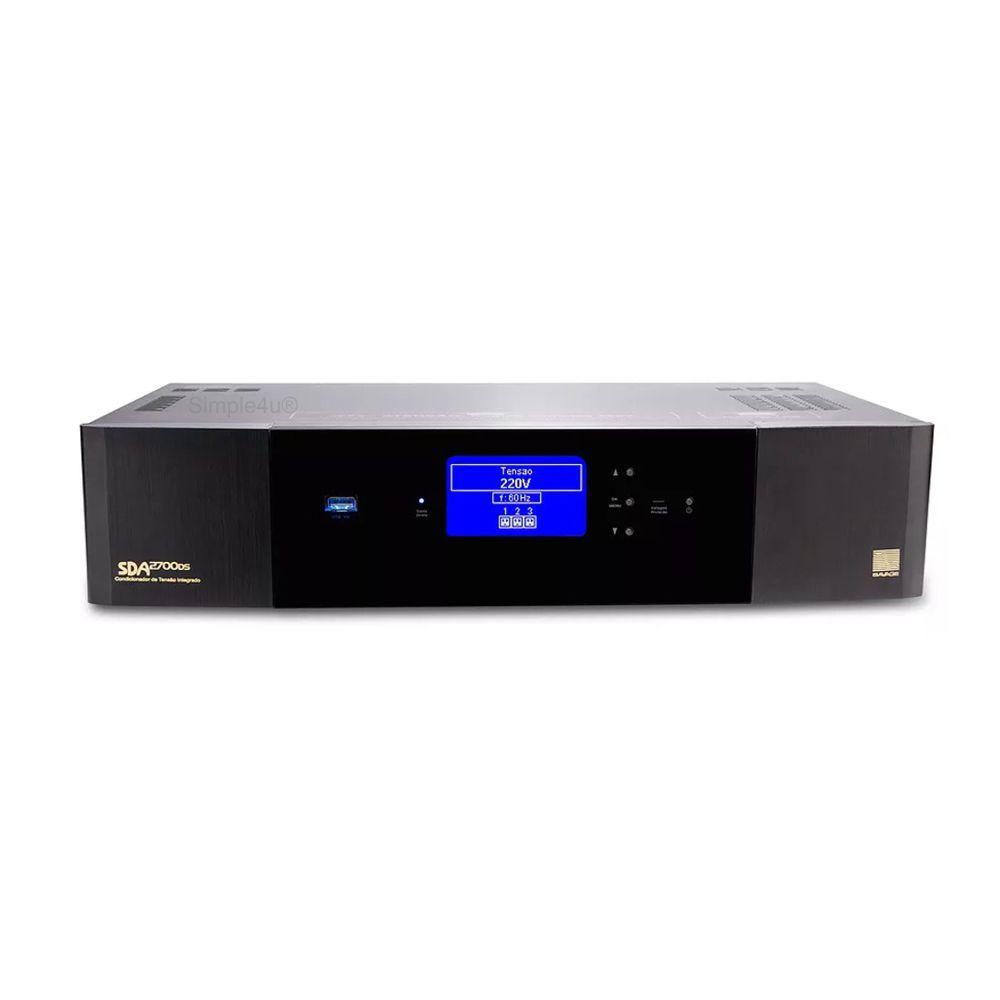 Condicionador / Transformador de Energia 2700W C/ Display Digital SDA2700ds SAVAGE (220v)