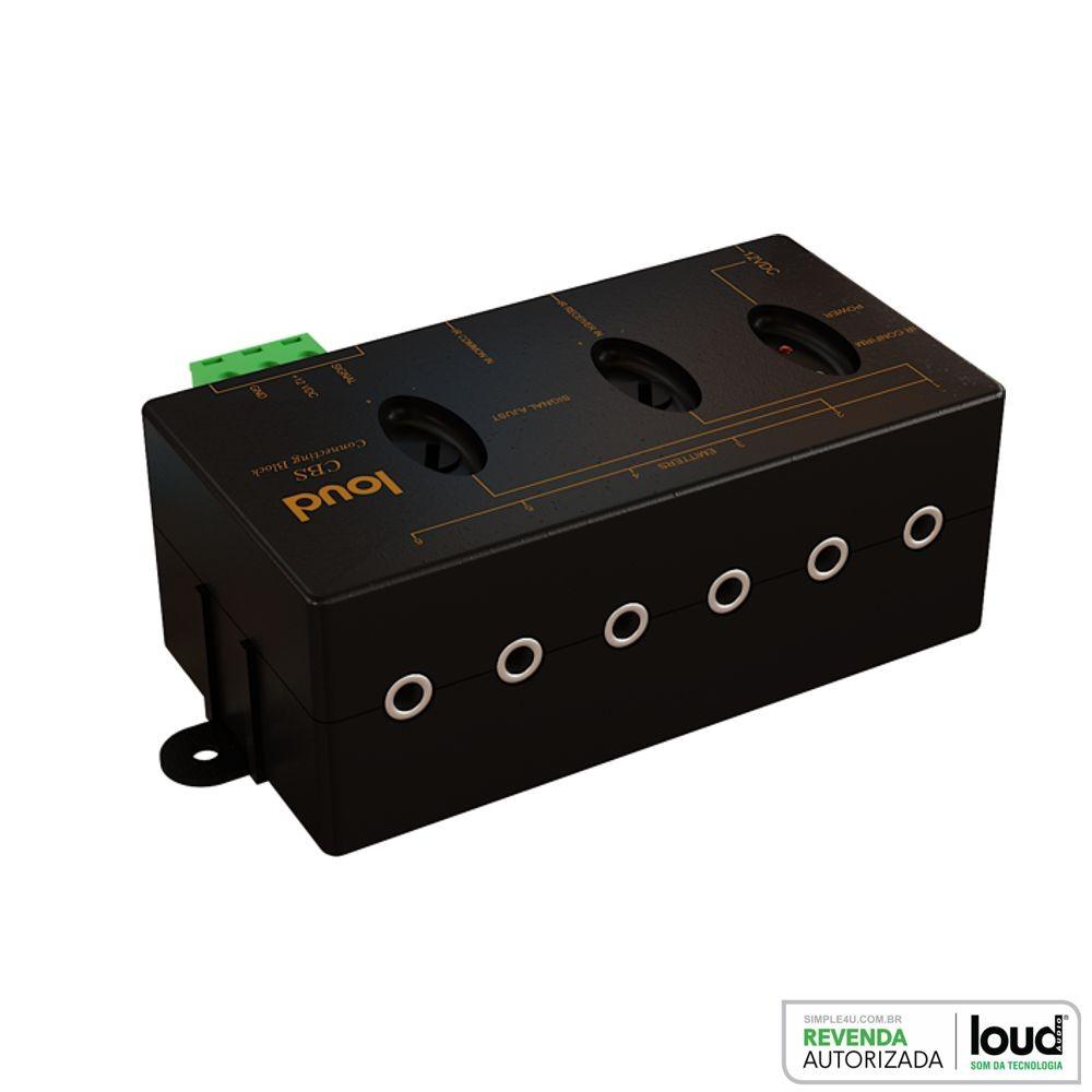 Connecting Block P/ Emissores e Repetidores IR - CBS Loud