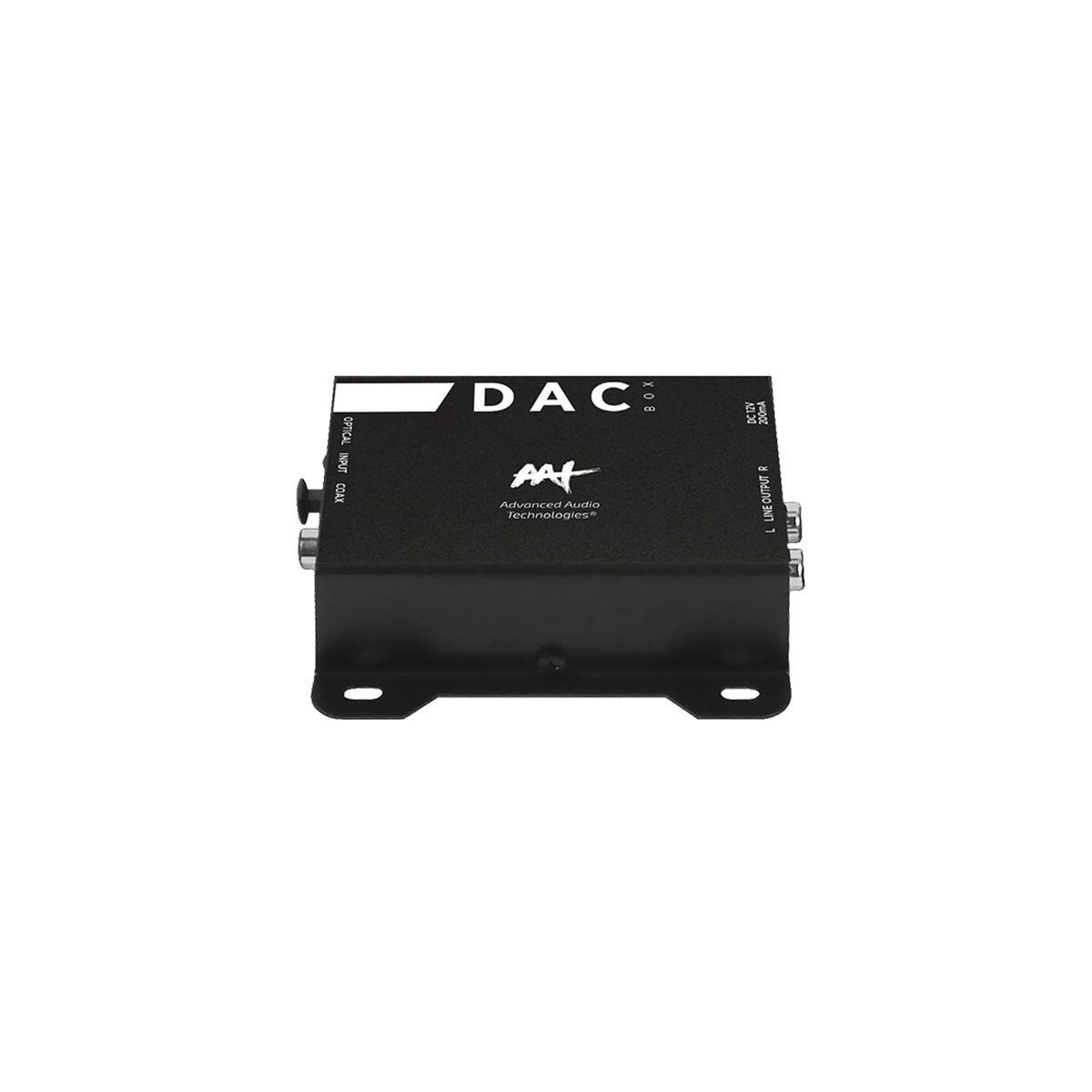 Conversor de Alta Resolução Sinal de Áudio Digital para Analógico DAC BOX AAT