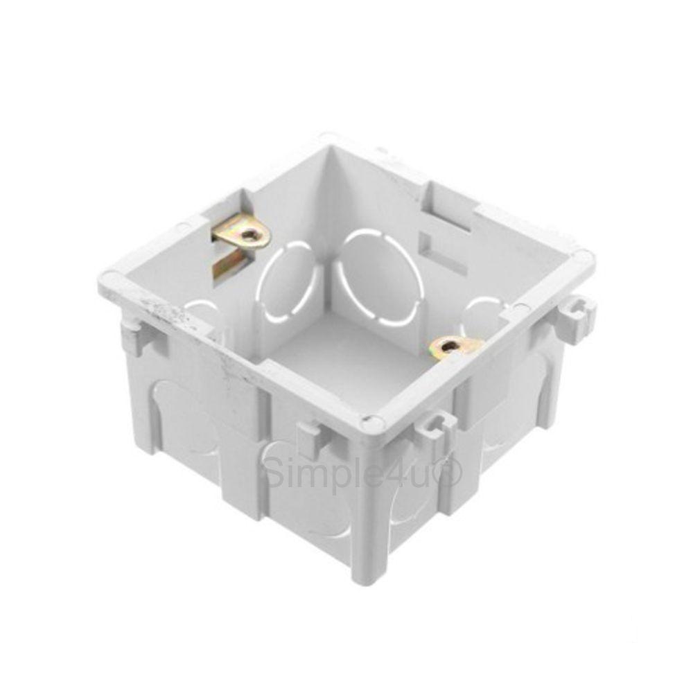 Kit Amplificador de Parede Bluetooth DM-835 DMD + 4 Caixas de Embutir Quadrada Plana CI6S JBL