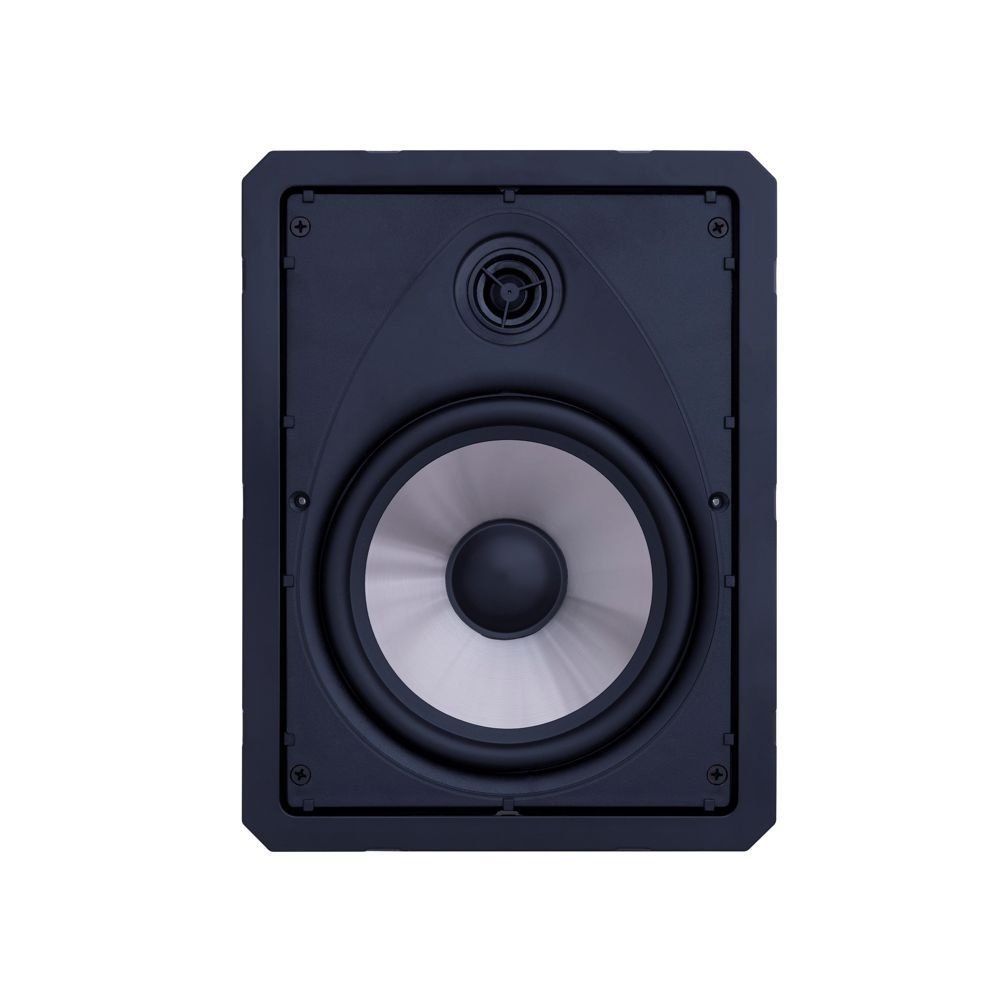 Kit 5.0.2 Dolby Atmos Caixa Acústica de Embutir LHT-100 BL + LR6-100 BL + SL6-120 BL Loud