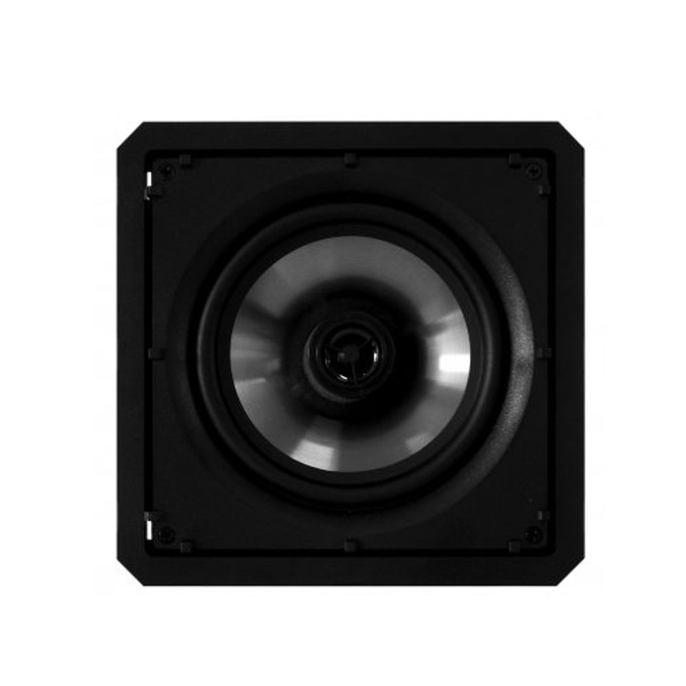 Kit 5.0 Caixa de Embutir no Gesso Borderless SL6-120 BL + SQ6-120 BL Loud