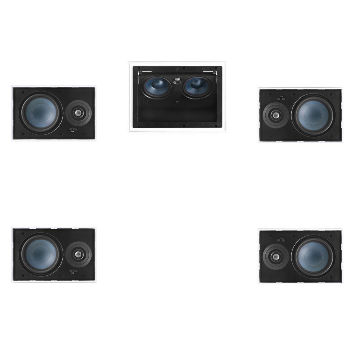 Kit 5.0 Caixa de Embutir no Gesso LCR-A100 + LR-E100 - AAT