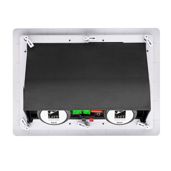 Kit 5.0 Caixa de Embutir no Gesso LHT-100 + LR6-100 Loud