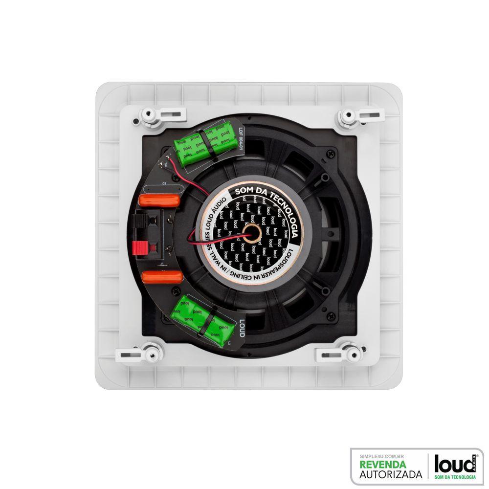 Kit 5.0 Caixa de Embutir no Gesso SL6-50 + SQ6-50 Loud