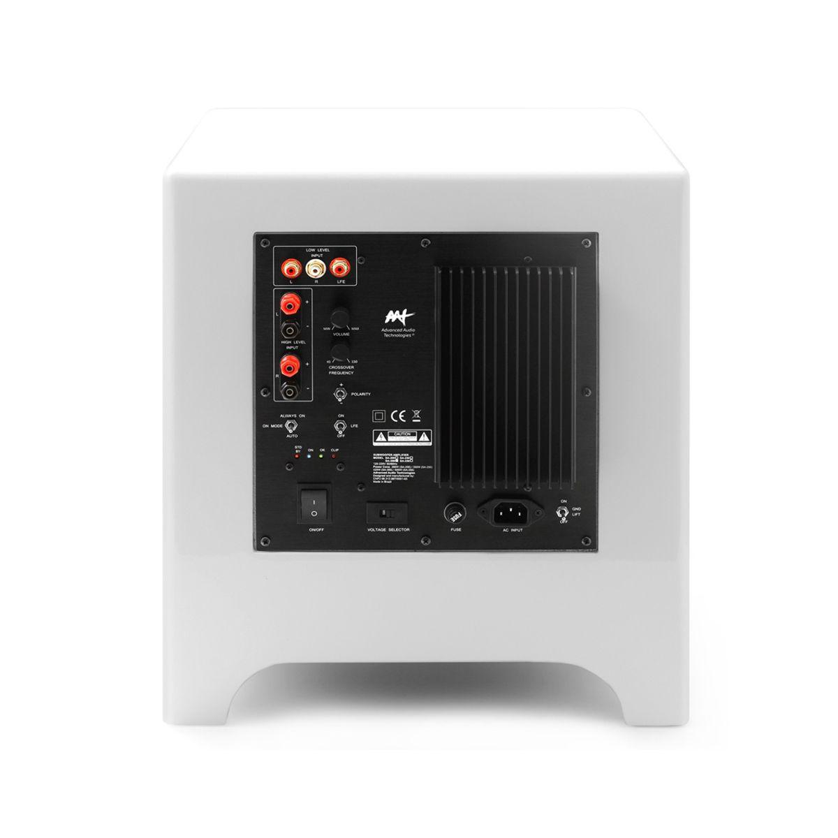 Kit 5.1.2 Dolby Almos Caixa Acústica Bookshelf + Caixa de Embutir no Gesso + Subwoofer Cube Modern 8 AAT