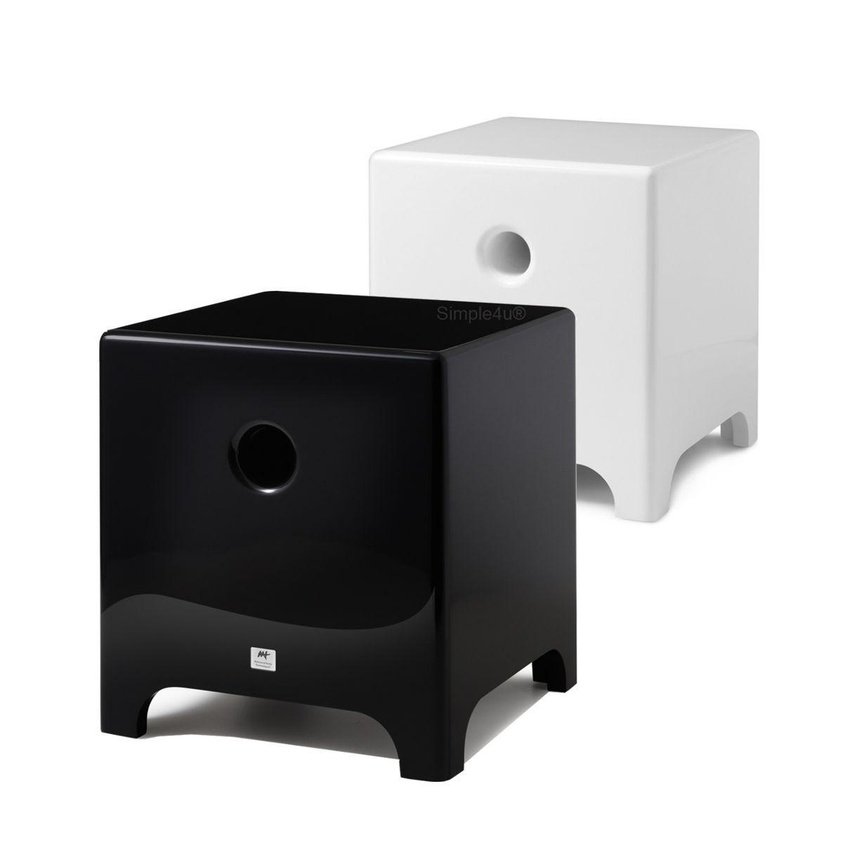Kit 5.1 Caixa Acústica Bookshelf BSF-100 + Caixa de Embutir LR-E100 + Subwoofer Cube Modern 8 AAT
