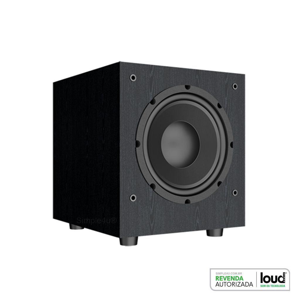 Kit 5.1 Caixa de Embutir no Gesso SL6-120BL + SQ6-120BL + Subwoofer SW-801 - Loud