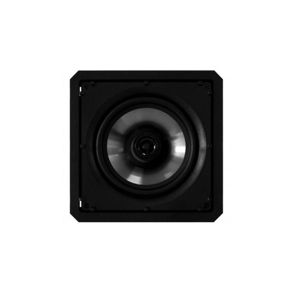 Kit 7.0 Caixa de Embutir no Gesso Borderless SL6-60 BL + SQ6-60 BL Loud