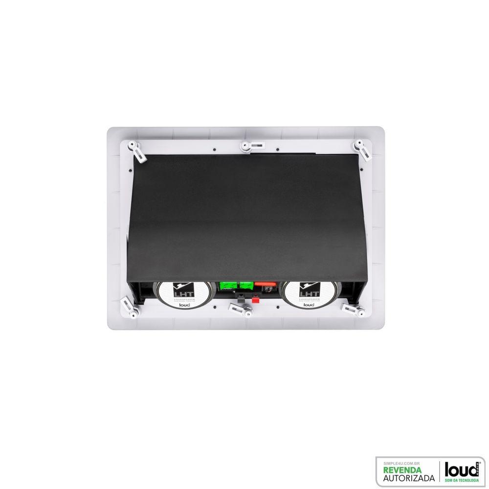 Kit 7.0 Caixa de Embutir no Gesso LHT-100 + SL6-100 + SQ6-100 Loud