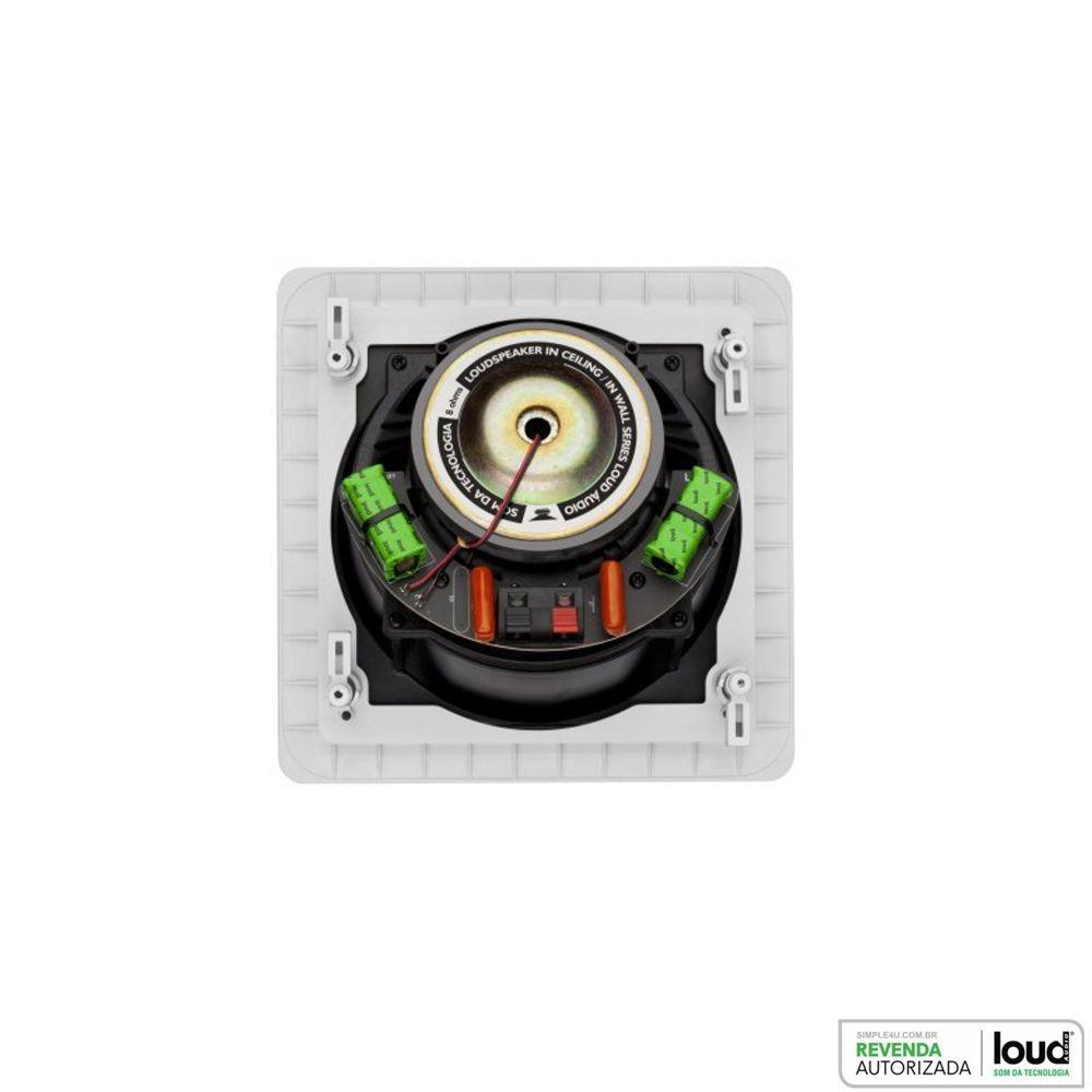 Kit 7.0 Caixa de Embutir no Gesso SL6-100 + SQ6-100 Loud