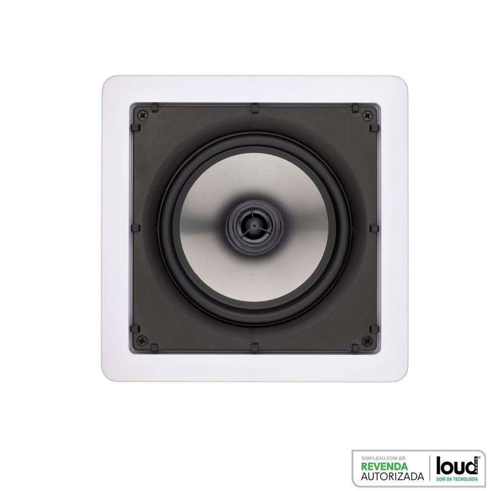 Kit 7.0 Caixa de Embutir no Gesso SL6-50 + SQ6-50 Loud