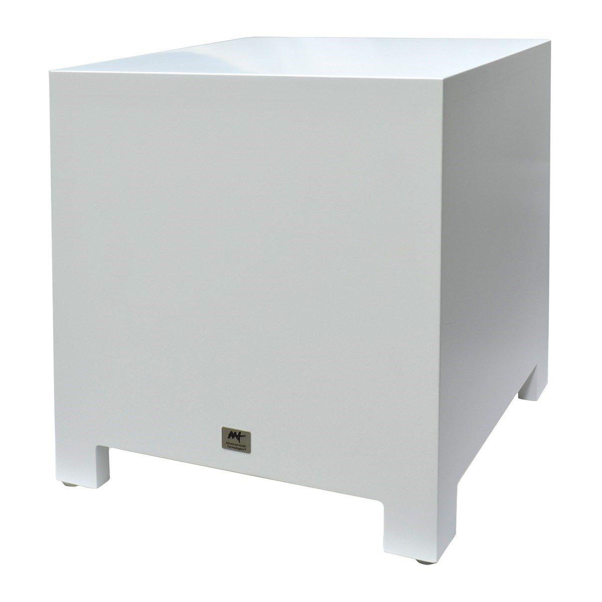 "Kit 7.1 Caixa de Embutir no Gesso LCR-A100 + LR-E100 + Subwoofer Cube Rakt 8"" AAT"