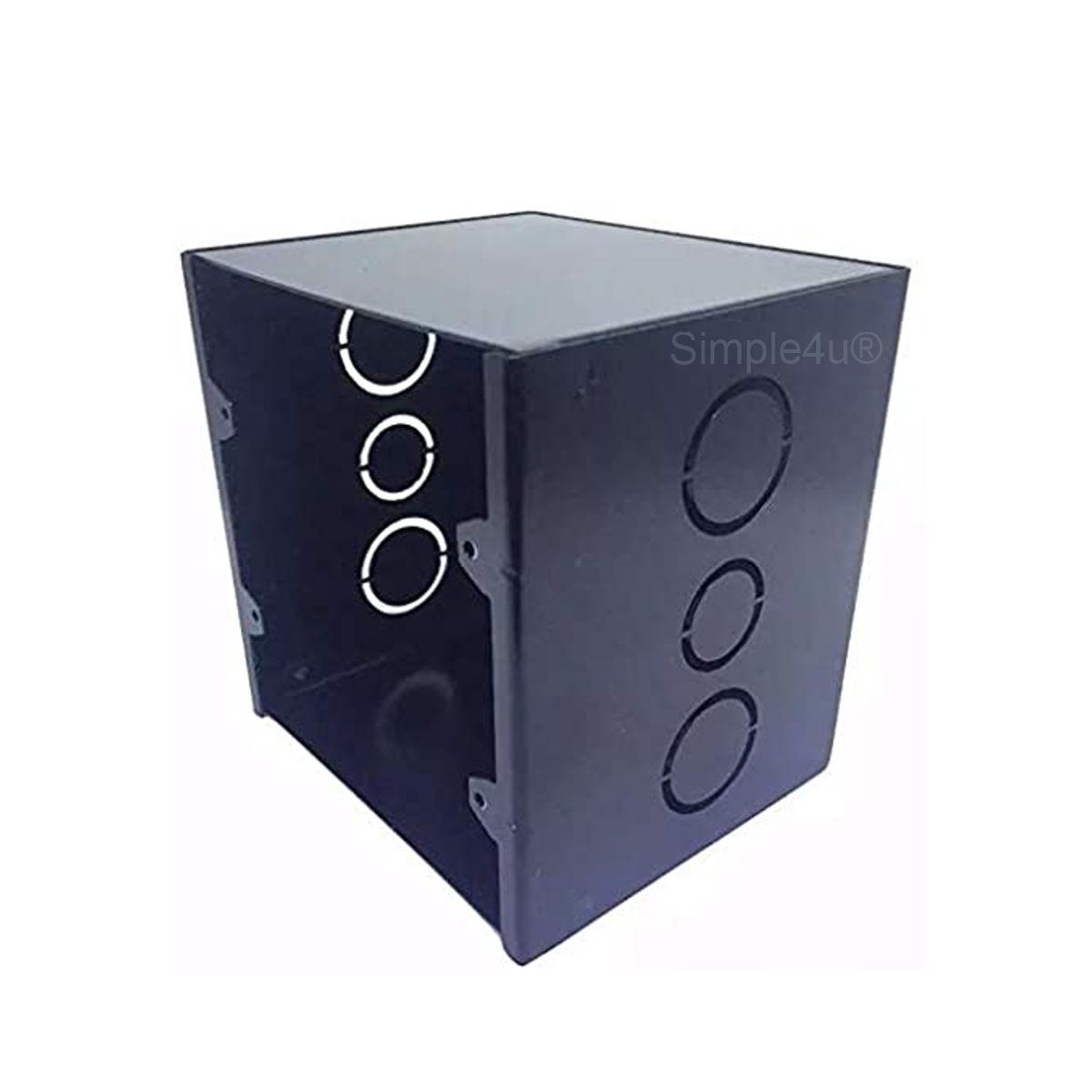 Kit Amplificador de Parede Bluetooth LAC LX BT BLACK + 4 Caixas Acústicas de Embutir SQ5-50 Loud