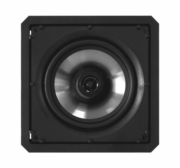 Kit Amplificador de Parede Bluetooth LAC LX BT BLACK + 4 Caixas Acústicas de Embutir SQ6-60 BL Loud