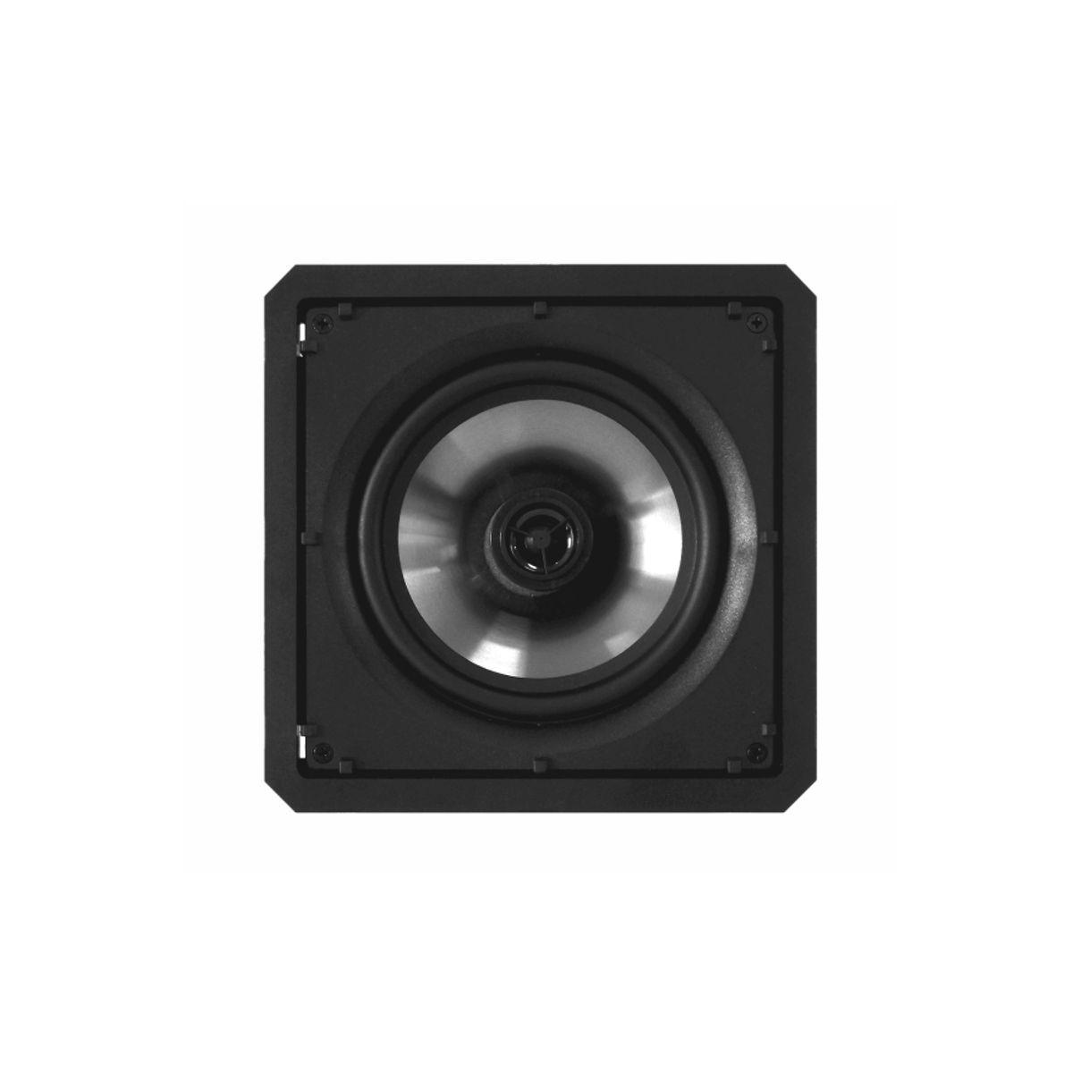 Kit Amplificador de Parede Bluetooth LAC NG + Subwoofer Ativo SW-801 + 2 Caixas Acústicas de Embutir SQ6-60 BL Loud