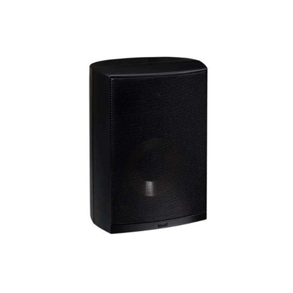Kit Amplificador de Parede LAC LX BT + 4 Caixas Acústicas Externas LB5-80 Loud