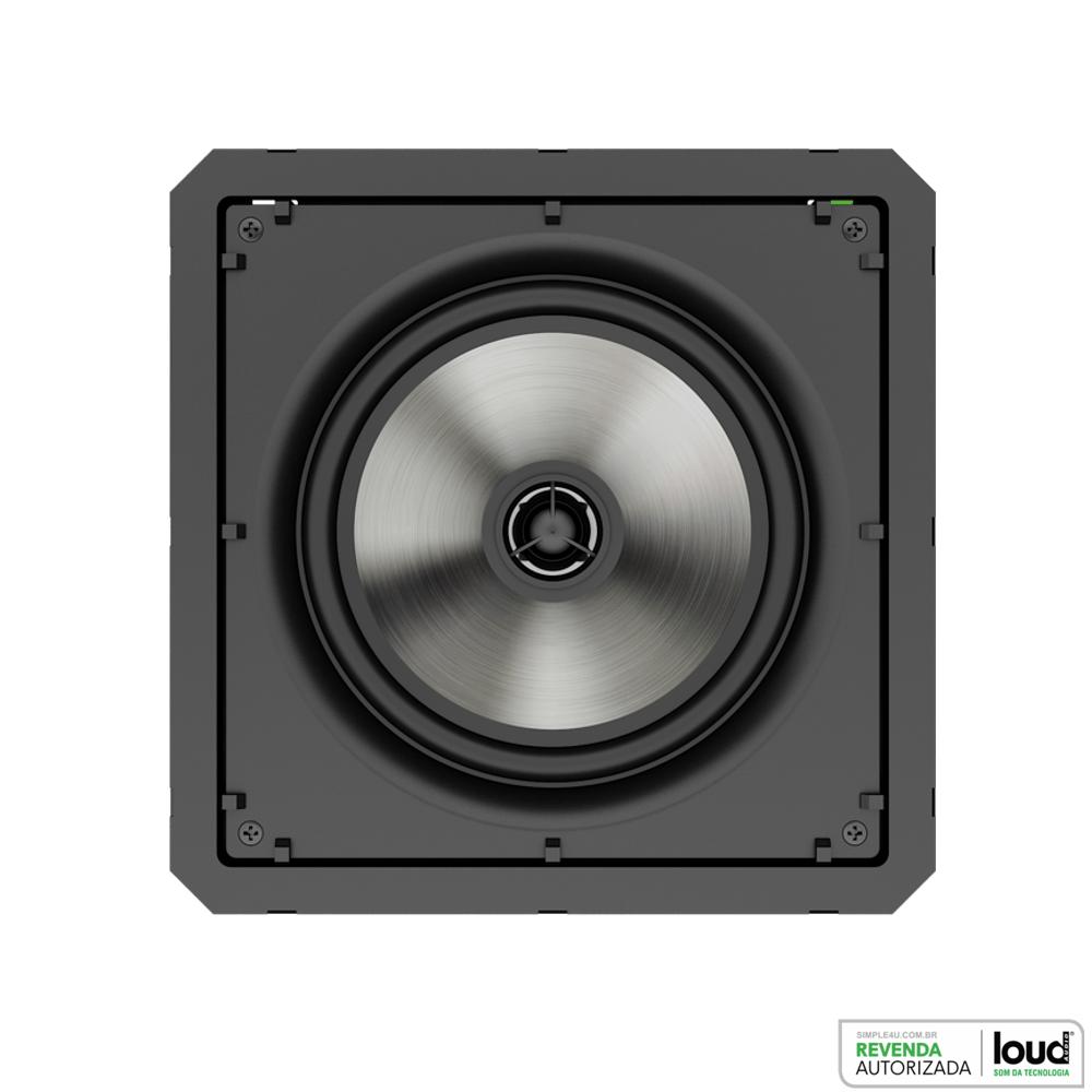 Kit Caixa de Embutir no Gesso SQ6-60 C/ Bluetooth Áudio Streaming EASY LA-BT-2 Loud