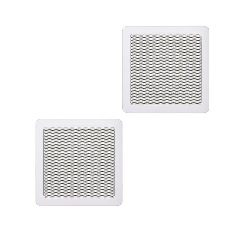 Kit Som Ambiente Amplificador 1 Zona APL-250 + 2 Caixas de Embutir SQ5-50 Loud