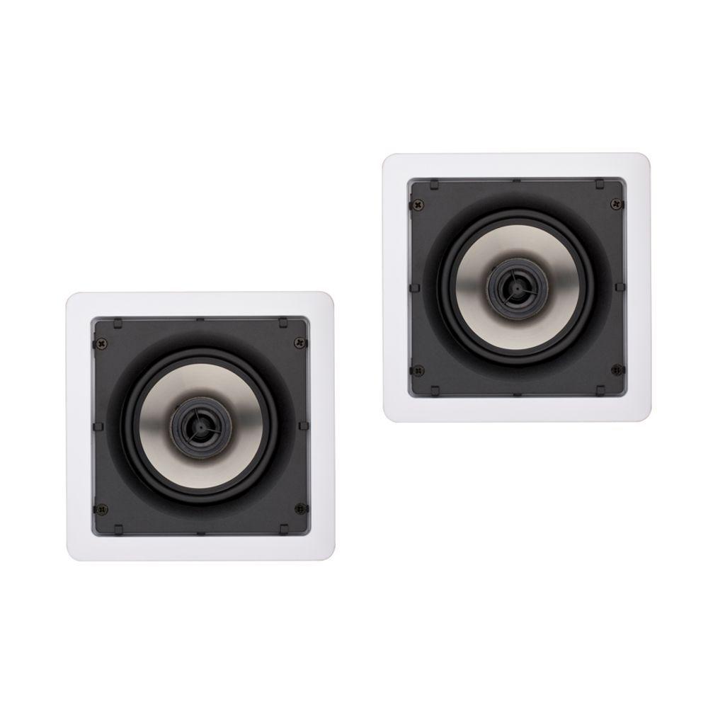 Kit Som Ambiente Amplificador 1 Zona APL-250 + 4 Caixas de Embutir SQ5-50 Loud