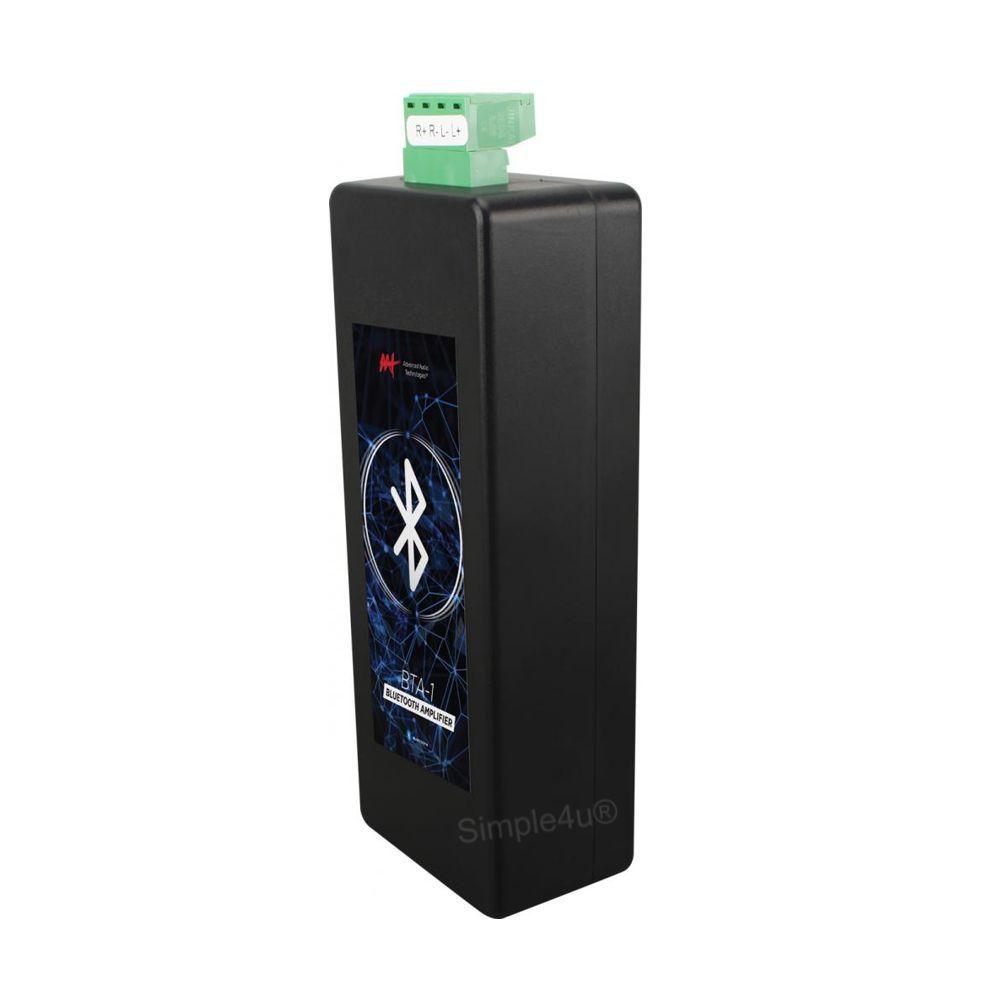 Kit Som Ambiente C/ Amplificador Bluetooth BTA-1 AAT + 2 Caixas de Embutir Quadrada CI6S JBL
