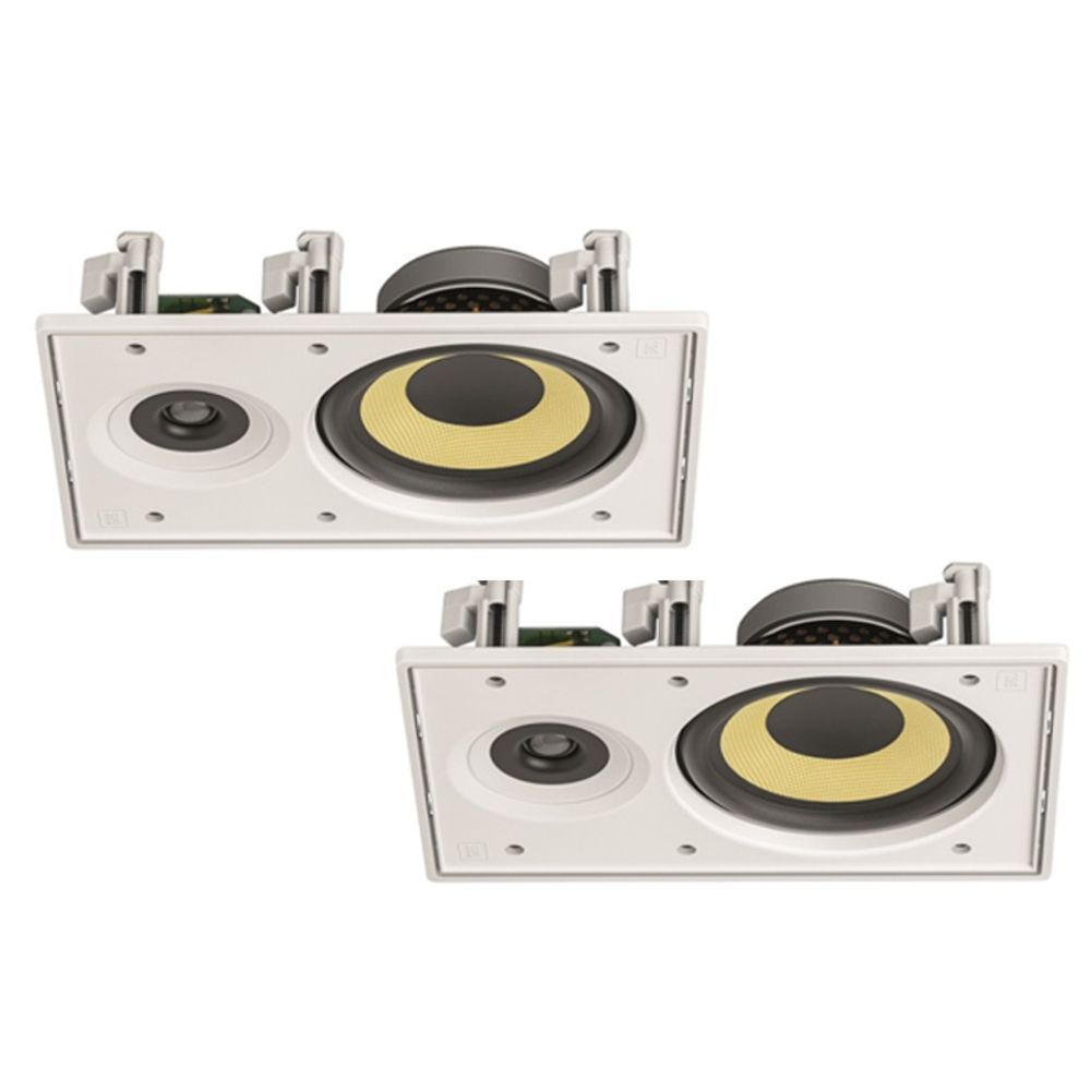 Kit Som Ambiente C/ Amplificador Bluetooth BTA-1 AAT + 2 Caixas de Embutir Retangular CI6R JBL