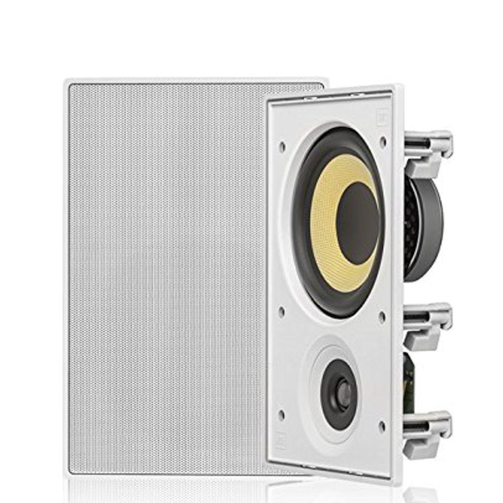 Kit Som Ambiente C/ Amplificador Bluetooth BTA-1 AAT + 4 Caixas de Embutir Retangular CI6R JBL