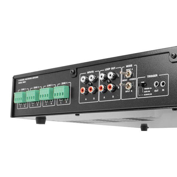 Kit Som Ambiente Multiroom 2 Zonas PMR-2 + 4 Caixa de Embutir NQ6-M100 AAT