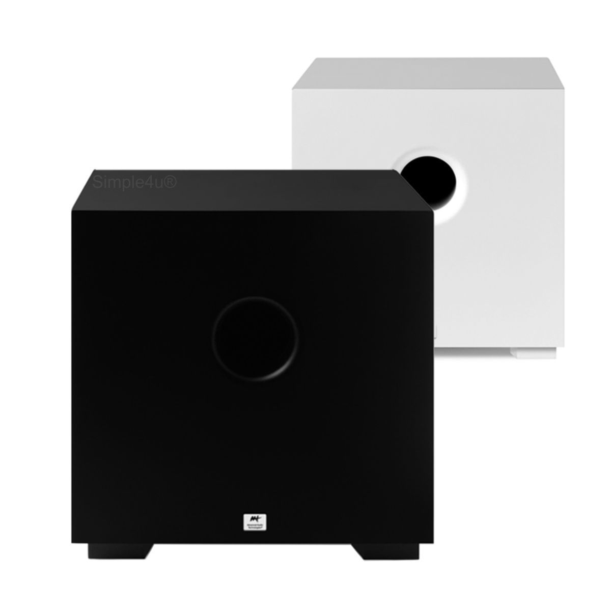 Subwoofer Ativo Compact Cube 8