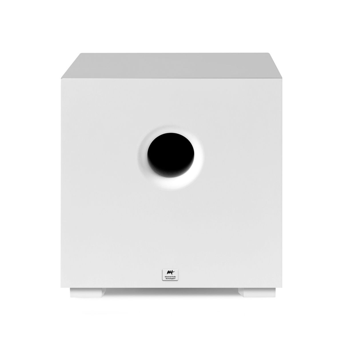 """Subwoofer Ativo Compact Cube 8"""" 200W RMS AAT"""