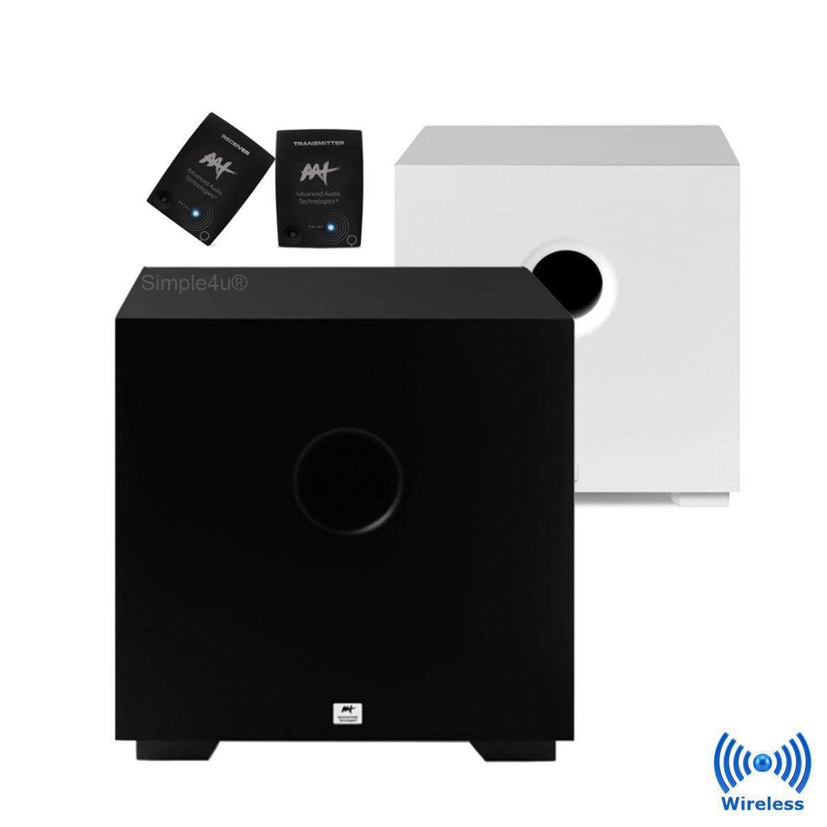 Subwoofer Wireless Ativo Compact Cube 8
