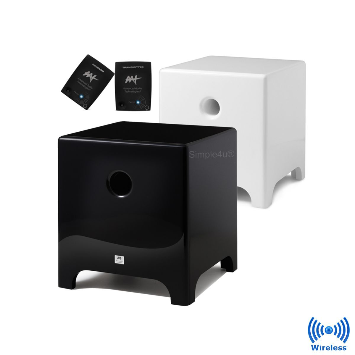 Subwoofer Wireless Ativo Cube Modern 8